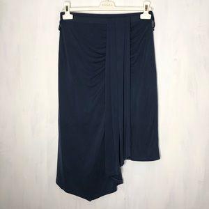 Anthropologie HD in Paris Blue Classicist Skirt S